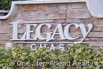 sign for Legacy Chase
