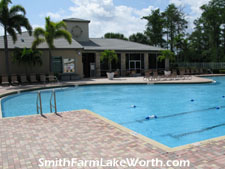 main swimming pool at Smith Farm